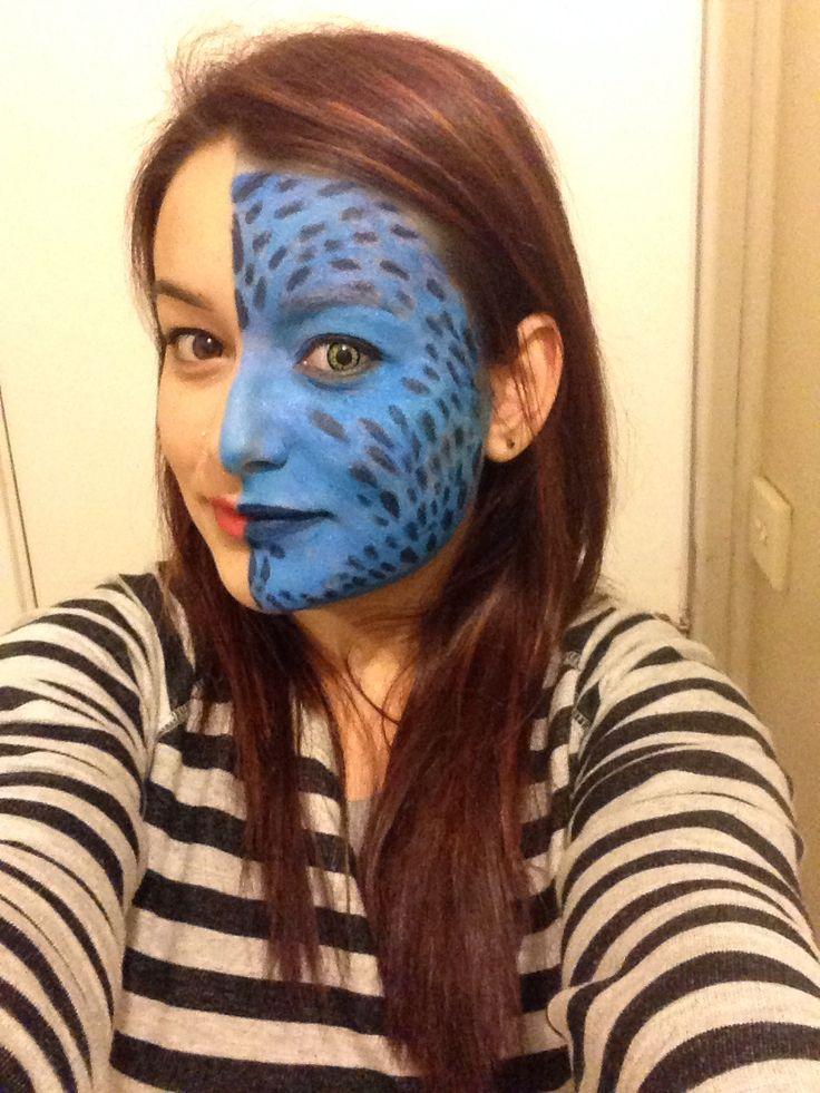 Mystic xmen make up look Instagram- rolena1