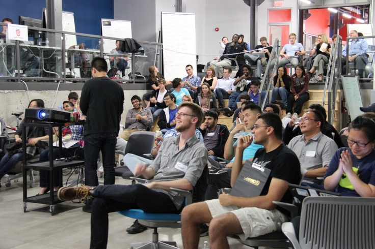 Pitch Night At The VeloCity Garage: Last Night Of Bootcamp! [Blog]