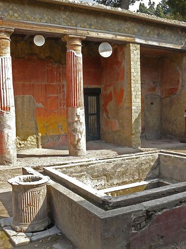 But if you're doing Pompeii - you MUST visit Herculaneum - which is near by. It's even more amazing. Complete two-story structures still intact.