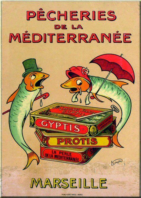 Pêcheries de la Méditerranée, Marseille