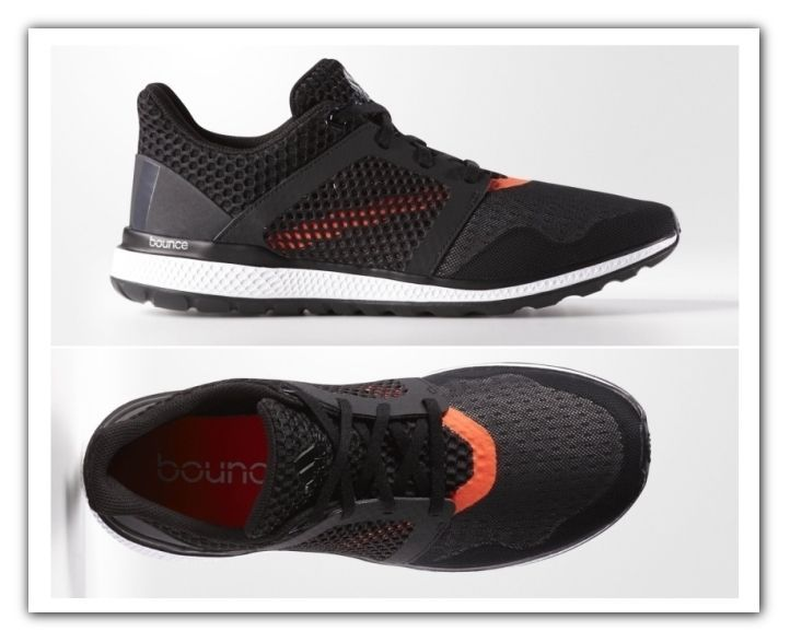 Adidas Energy Bounce Mens Running Shoes Black Sneakers Adidas Boost NEW