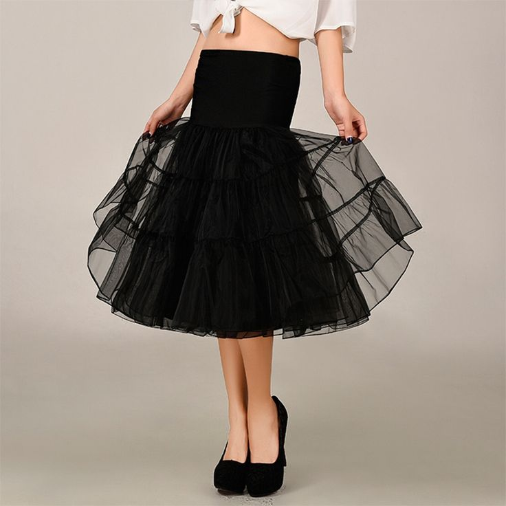 Lacontrie Tutu Skirt Rockabilly Petticoat Underskirt Fluffy Pettiskirt for Wedding Bridal Retro Vintage Women Gown Faldas Tulle *** AliExpress Affiliate's buyable pin. Detailed information can be found on www.aliexpress.com by clicking on the image