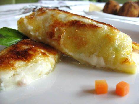 Ricetta Cannelloni di verdure e ricotta con salsa al parmigiano