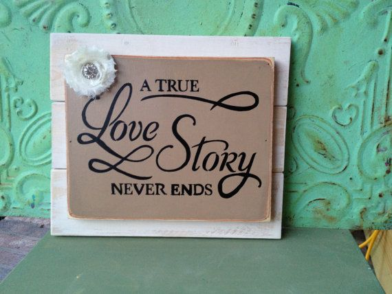 Rustic Love Story Pallet Board Sign Wooden by SassySouthernCharm