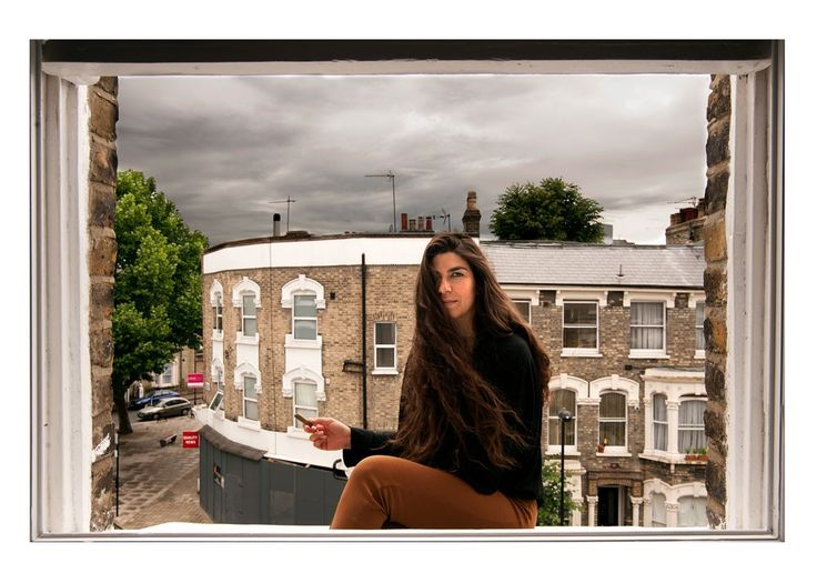 W1D. Cynthia Tzitzis is taking photos of her friends. Mainly young people who came to the UK the last few years in search of a better future and left Greece behind, like she did. #photography #portrait #framing #images
