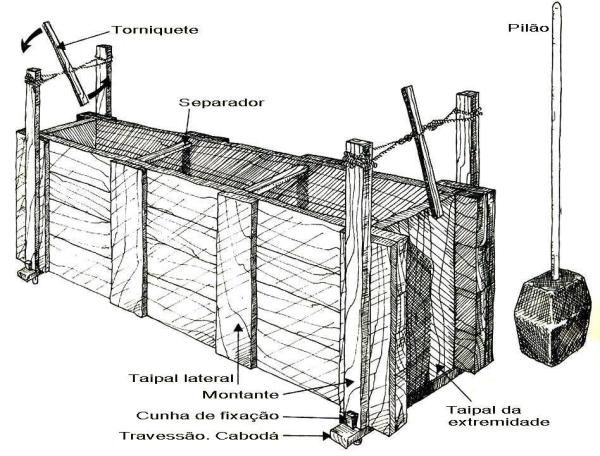 Técnicas construtivas do período colonial