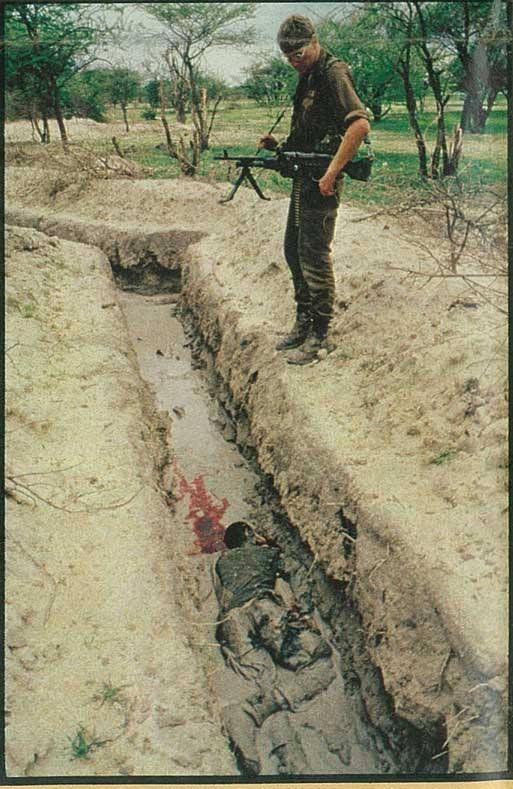 """From the book """"South Africa's Border War' by Willem Steenkamp"""