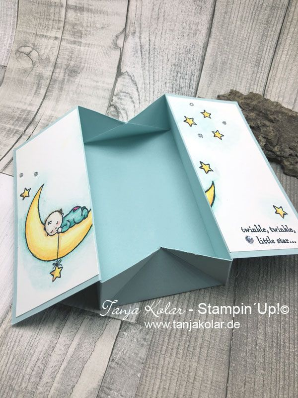 Welcome on my blog. Here we give you a special folded card and you can create it very easy. For that, we the team, will give you a lot of ideas, and a lot