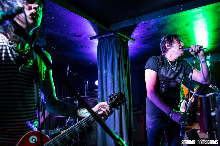 The Richie Ramone Band live at Whammy Bar, Auckland |  © Amanda Ratcliffe |  28 October 2016 | Please contact for additional images: contact@amandashootsbands.com