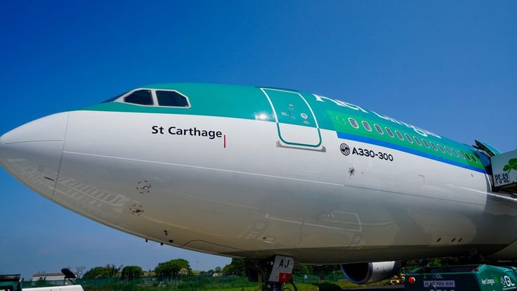 Aer Lingus New Airbus A330-300 st. carthage.
