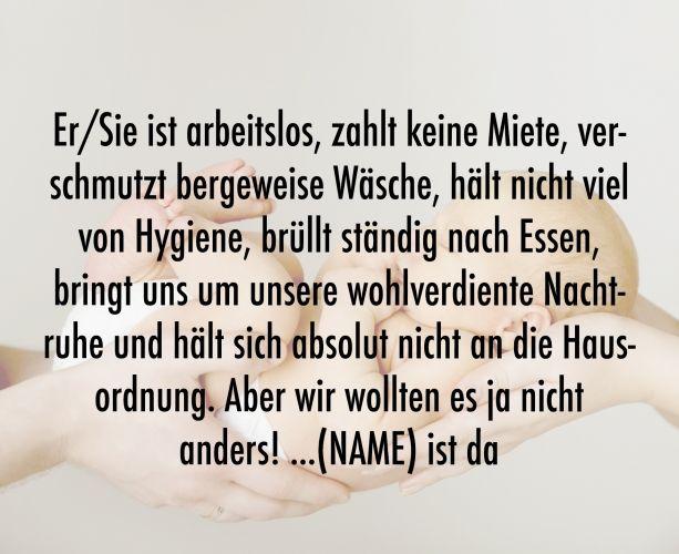 Schöne Sprüche Zur Geburt. Herzlich Willkommen ...