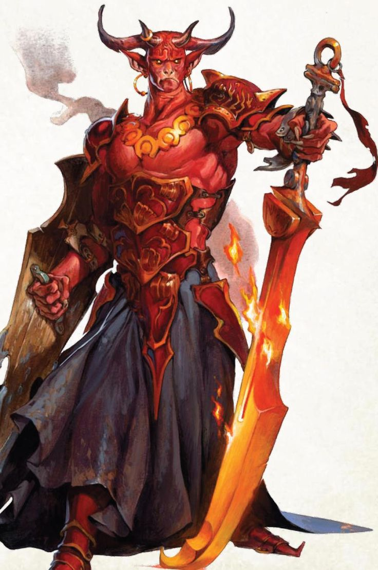 Lord Izah of the Brass City - Demon Prince