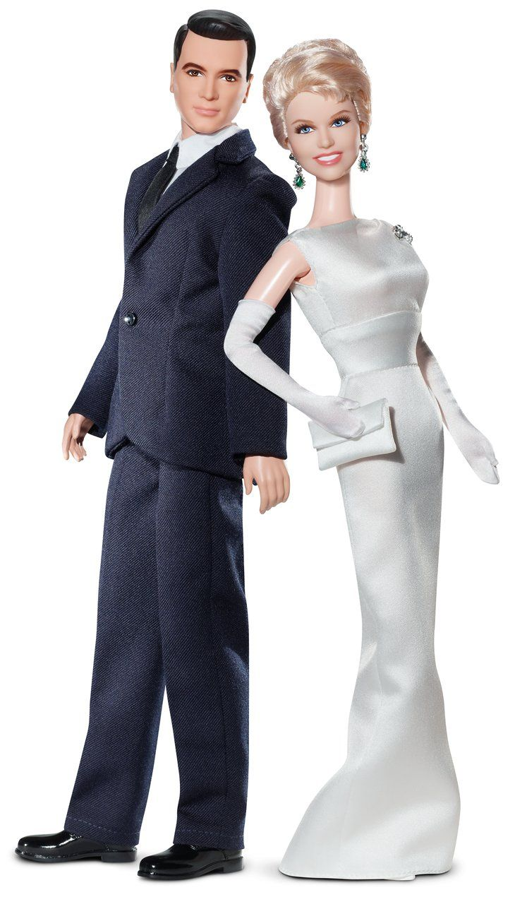 Pillow Talk - Rock Hudson & Doris Day Barbie and Ken doll Set