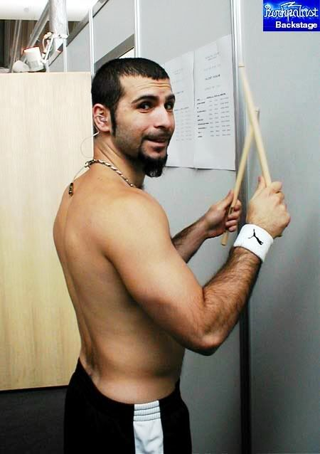 John Dolmayan ⭐️Music groups: System of a Down (Since 1997), Scars on Broadway (2006 – 2012)