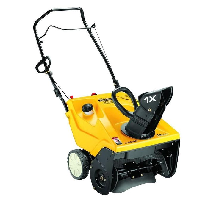 21 in. 123cc Single-Stage Electric Start Gas Snow Blower