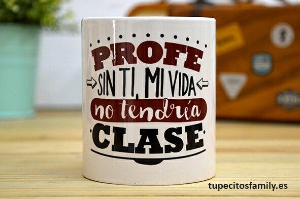 Taza para ese profesor/a fantástico/a que hace que nuestro aprendizaje sea mucho más fácil! #Taza #Vueltaalcole #Backtoschool #Profesor #Original #Regalo #Tupecitos #TupecitosFamily