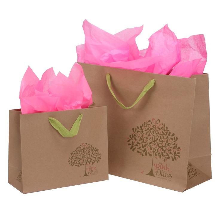 Package Design- Commercial- Custom Retail Packaging- Kraft paper Shopping Bags…