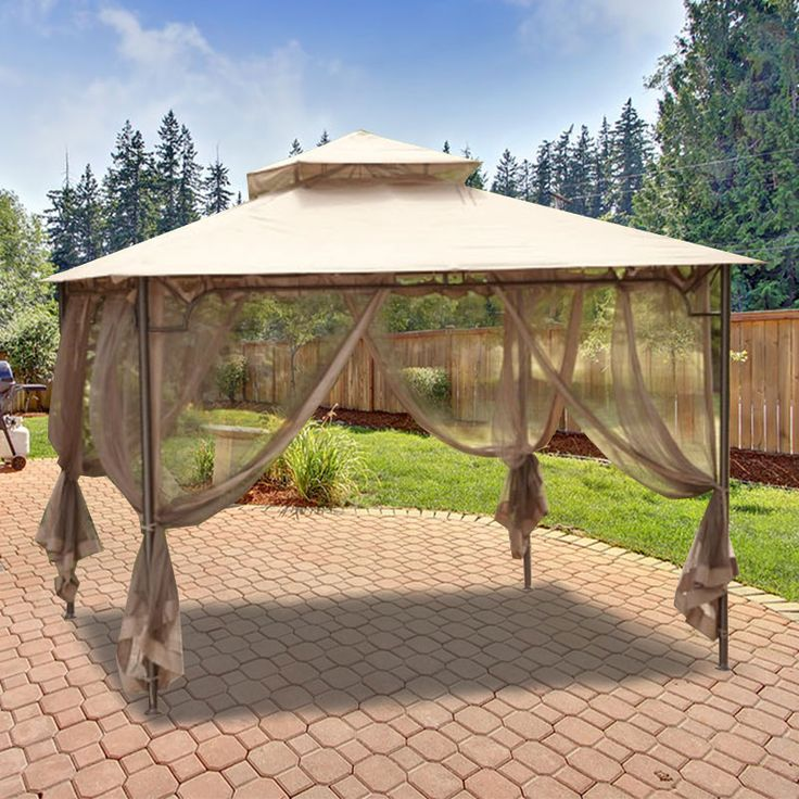 Replacement Canopy for Living Accents 10ft Gazebo - RipLock 350