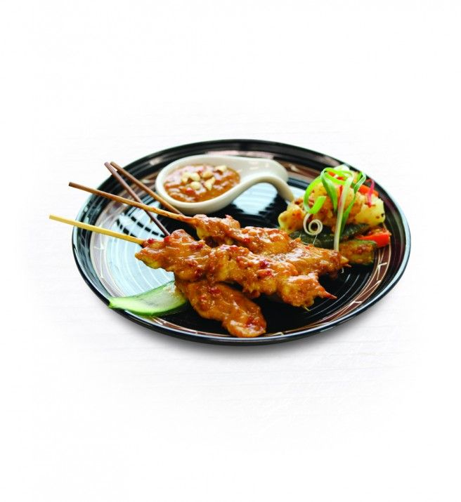 Chicken Satay - BBQ Satay Stick Recipe - Asian Inspirations