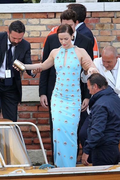 emily blunt gown at clooney wedding - Google Search