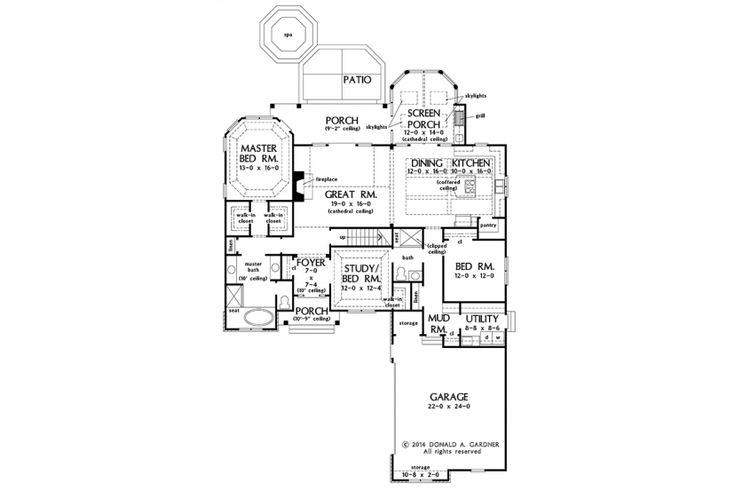Great Master Suite HWBDO77444 Craftsman from BuilderHousePlans.com