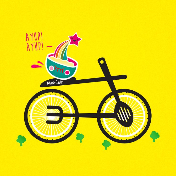 Life's a beautiful (sweet) ride! Let's give the #tdf2014 a proper warm Sheffield welcome TODAY as Stage 2 finishes in my home city today - Chips  gravy and Yorkshire puddings are very well deserved to the amazing cyclists at the finish line!