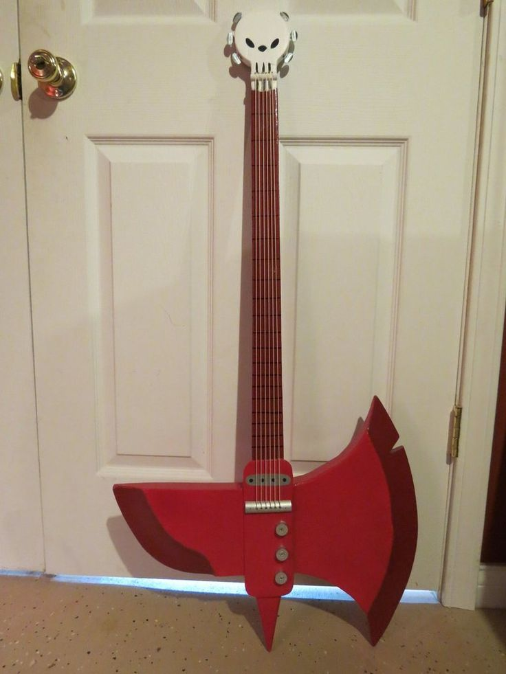 Marshall Lee axe guitar cosplay | Current projects | Pinterest