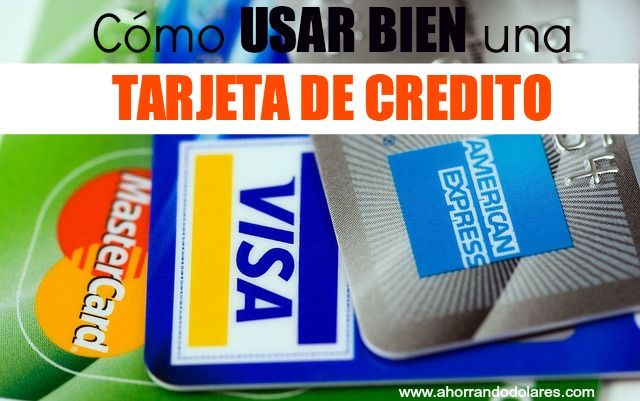 como funciona tarjeta credito