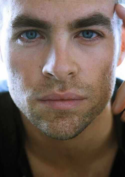 Chris Pine...!: Baby Blue, Eye Candy, Christian Grey, Boys, Lips, Blue Eye, Beautiful People, Chris Pine, Guys