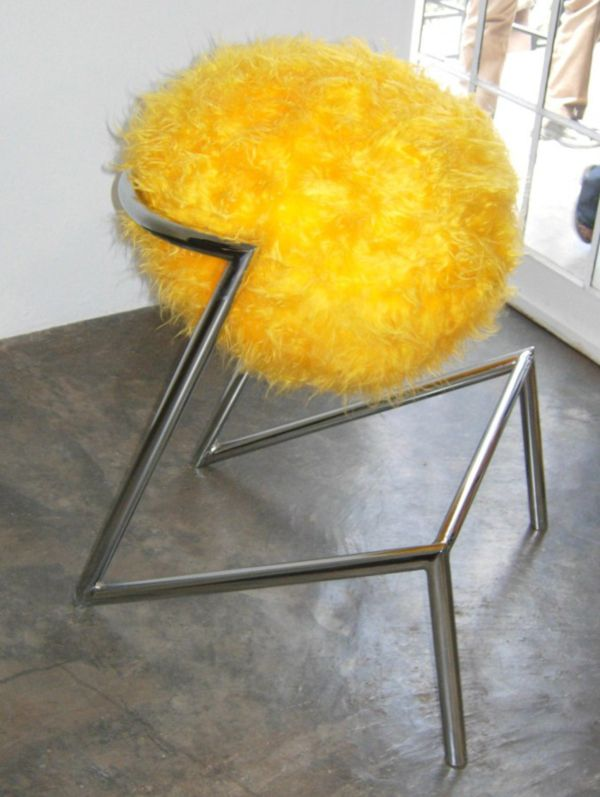 Yellow Ostrich #Stool by Tsai Design Studio & 134 best Yellow Chairs Benches Stools Sofas (Seating Furniture ... islam-shia.org