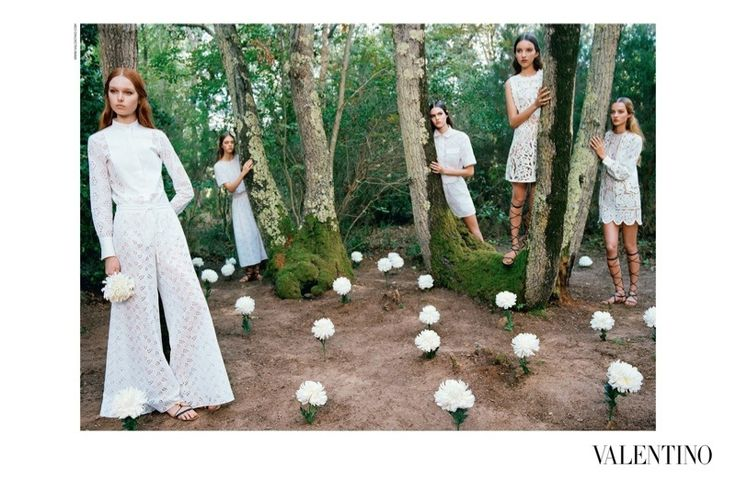 Valentino Spring 2015 Ads - Helena Bordon