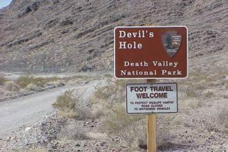 Аномальные зоны США: Долина смерти и Дыра дьявола