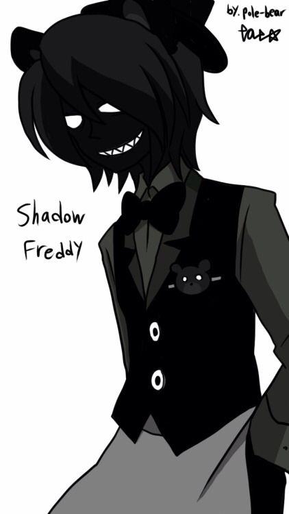 This humanized Shadow Freddy though...... O_O ITS SO PRETTY