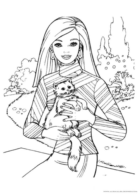 30 mejores imágenes de Ausmalbilder Barbie en Pinterest   Páginas ...