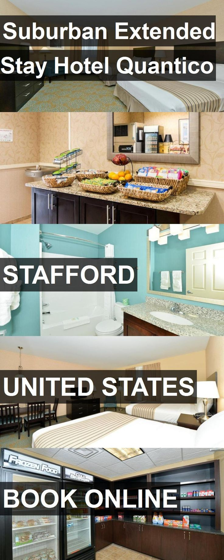 Suburban Extended Stay Hotel Quantico in Stafford, United States. For more information, photos, reviews and best prices please follow the link. #UnitedStates #Stafford #travel #vacation #hotel
