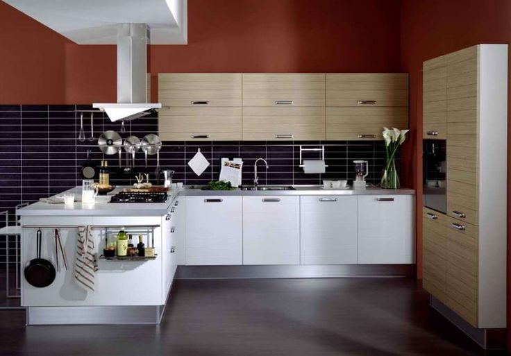 Modern Kitchen Designs Houzz Contemporary Kitchen Designs Pinterest Con