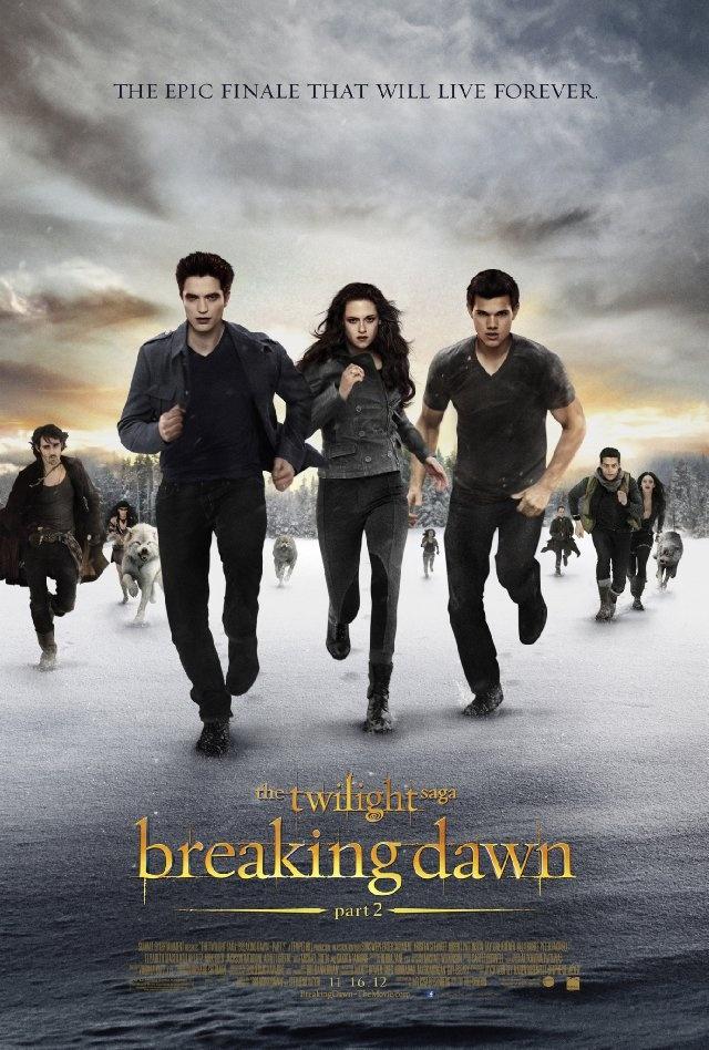 The Twilight Saga: Breaking Dawn - Part 2 (2012). Kristen Stewart, Robert Pattinson and Taylor Lautner