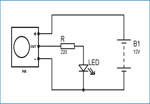 light dark detector circuit