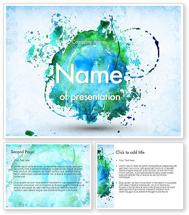 http://www.poweredtemplate.com/11456/0/index.html Turquoise Watercolor Stains PowerPoint Template