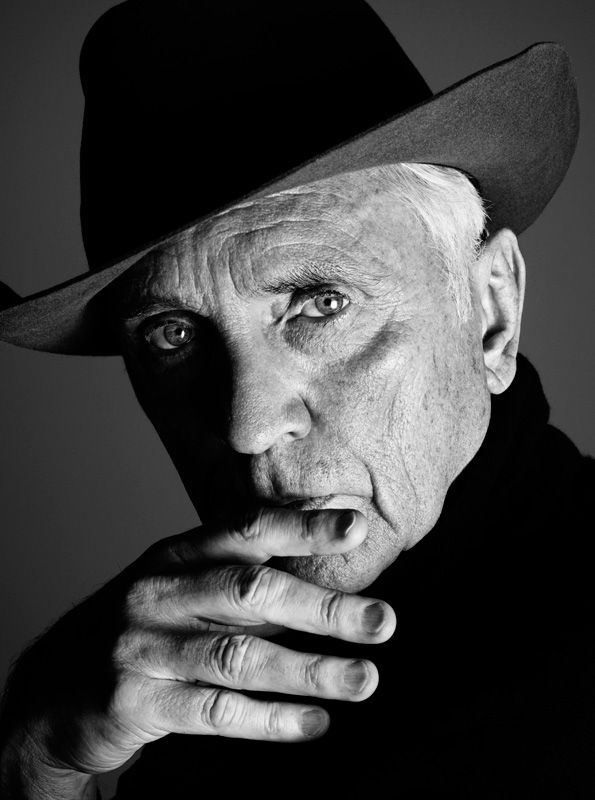 Terence Stamp by Rankin  Maarten Deckers via Eduardo Calvo onto Artists / writers / actors / ...