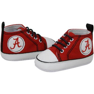 Alabama Crimson Tide Infant Crimson Crawler Sneakers