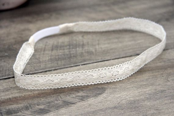 Lace Headband by BabyFripperies on Etsy