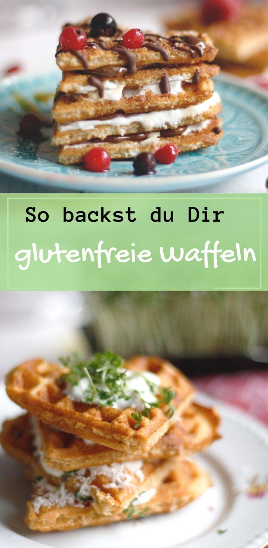 So machst du dir leckere Waffeln aus Buchweizenmehl, die glutenfrei sind. Sie schmecken wunderbar kräftig und sind schmecken als herzhafte Waffeln, aber auch als süße Waffeln. Du kannst sie natürlich auch essen, wenn du nicht unter Glutenunverträglichkeit leidest. Auf dem Blog lernst du, wie du glutenfreie Waffeln backst. Hier entlang.: https://naschenmitdererdbeerqueen.de/2017/02/18/glutenfreie-waffeln/