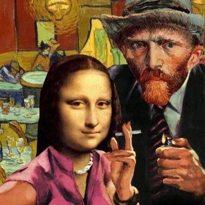 #vincent #van #gogh #vangogh #wallpaper #monalisa #davinci #mona #lisa #populer #culture #iphone #selfie #modernart #modern #art #paint #oilpainting #android #starrynight #starry #night
