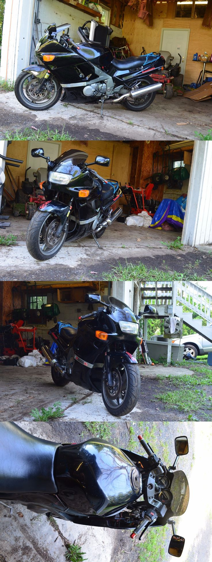 Motorcycles: 1990 Kawasaki Ninja 1990 Kawasaki Ninja Zx 600 -> BUY IT NOW ONLY: $1395 on eBay!