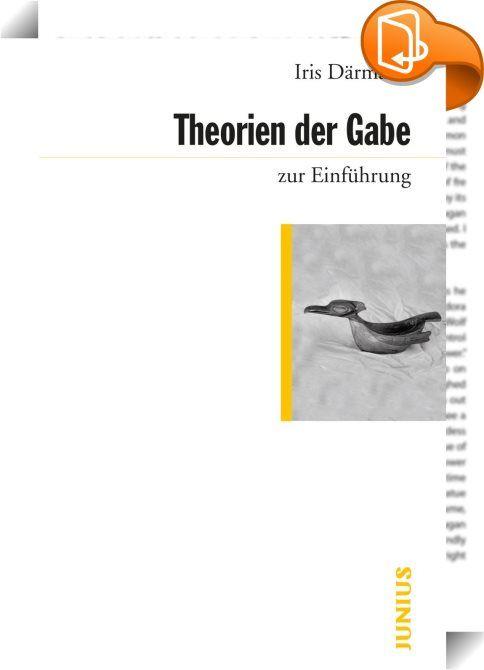 Theorien der Gabe zur Einführung    :  Was hat es mit dem Schenken auf sich? Woher kommt die Verpflichtung, die Gabe - zumindest mit einem Dank - zu erwidern? Woran rührt die Reserve, Geschenke wie bloße Dinge oder Waren zu behandeln? Und warum müssen Gaben überflüssig und unnötig sein? Der Essay über die Gabe von Marcel Mauss gehört zu den prägenden Klassikern der Soziologie und hat einen der wichtigsten Traditionsstränge der französischen Theoriebildung begründet. In dieser Einführun...