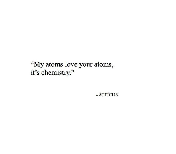 It's only science folks. @atticuspoetry