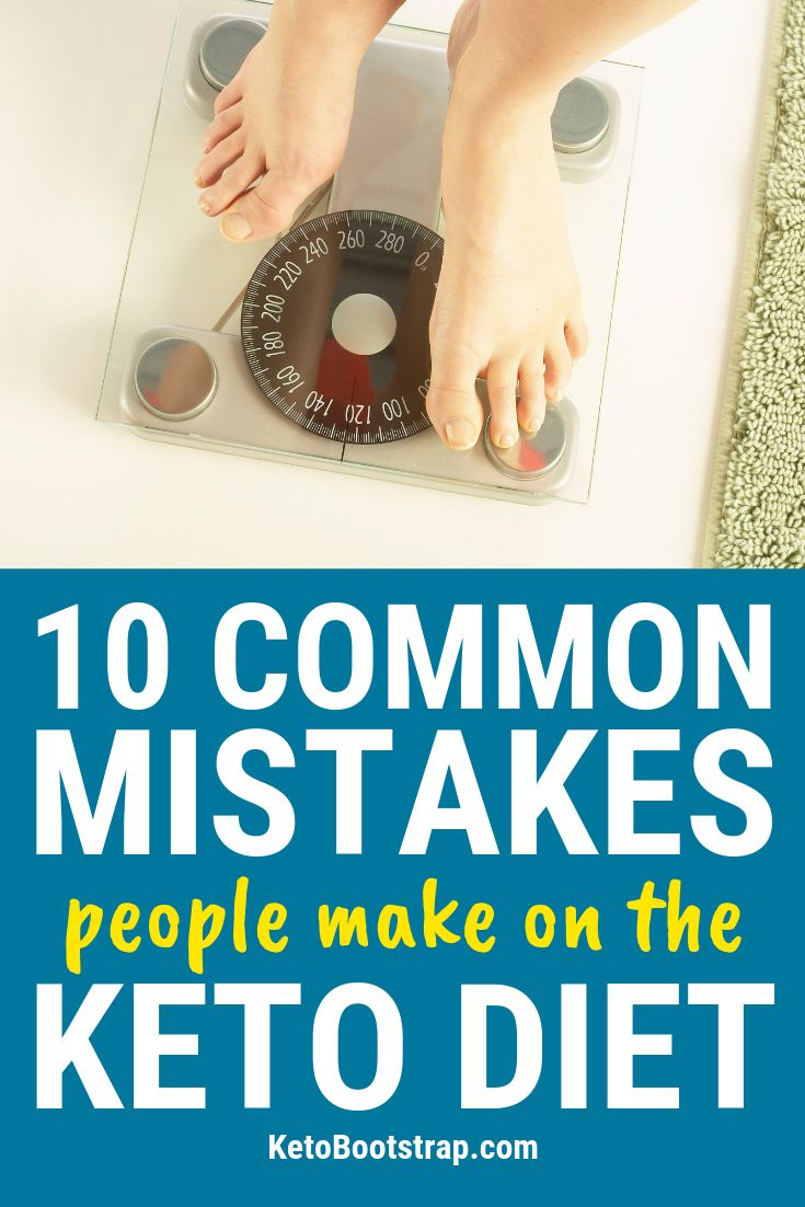 10 Common Keto Mistakes People Make on the Ketogenic Diet