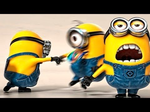 HAPPY - Pharrell Williams (feat. Minions)   2014 Official [HQ] - YouTube