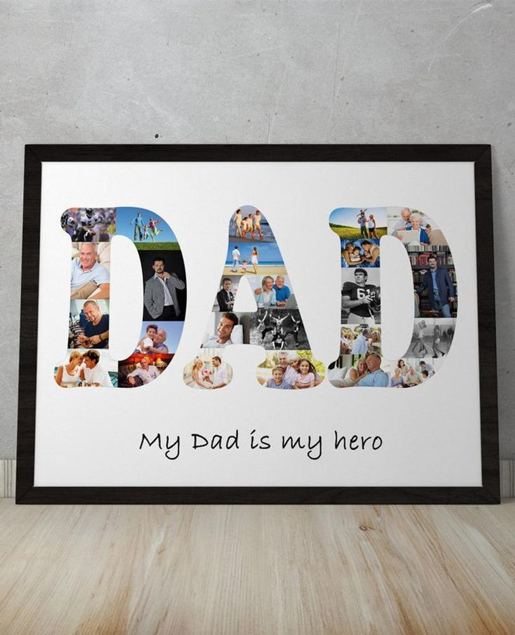 Dad gift from son Custom dad gifts from daughter Dad gift from wife Father gift from daughter Dad gift from kids Dad photo collage